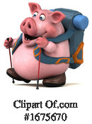 Pig Clipart #1675670 by Julos
