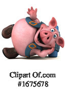 Pig Clipart #1675678 by Julos