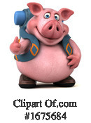 Pig Clipart #1675684 by Julos