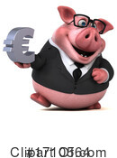 Pig Clipart #1710564 by Julos