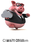 Pig Clipart #1710568 by Julos