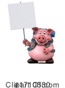 Pig Clipart #1710580 by Julos