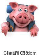 Pig Clipart #1710581 by Julos