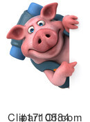 Pig Clipart #1710584 by Julos