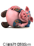 Pig Clipart #1710585 by Julos