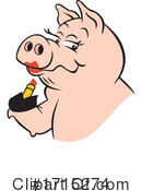 Pig Clipart #1715274 by Johnny Sajem
