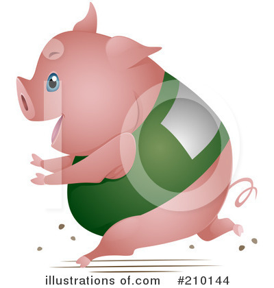 Pig Clipart #210144 by BNP Design Studio