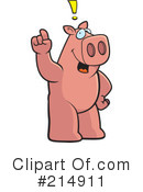Pig Clipart #214911 by Cory Thoman