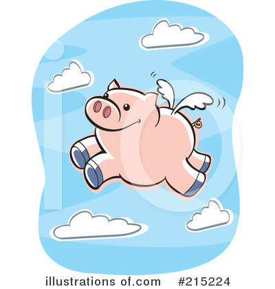 Pig Clipart #215224 by Cory Thoman