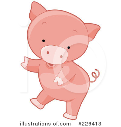 Pig Clipart #226413 by BNP Design Studio