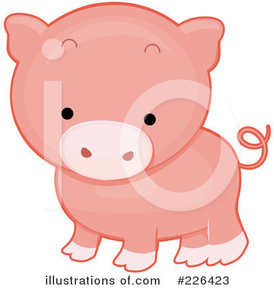 Pig Clipart #226423 by BNP Design Studio
