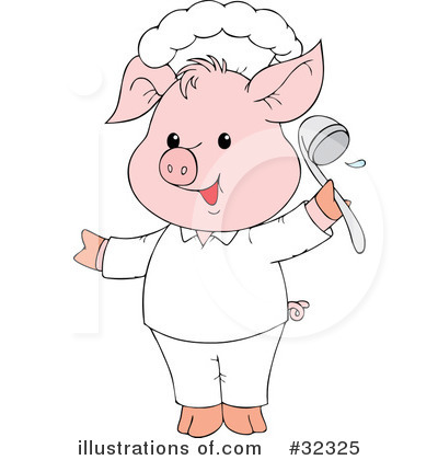 Pig Clipart #32325 by Alex Bannykh