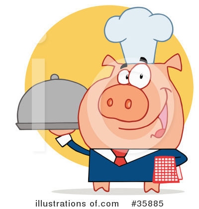 Pig Clipart #35885 by Hit Toon