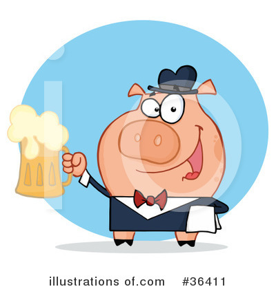 Beer Clipart #36411 by Hit Toon