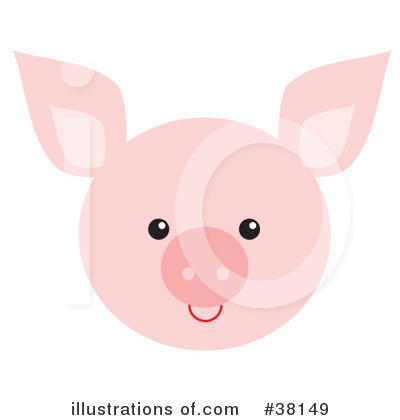 Pig Clipart #38149 by Alex Bannykh