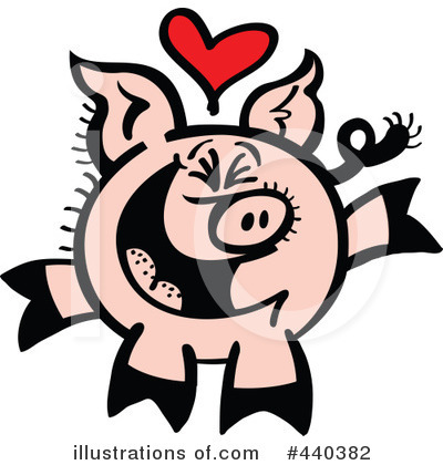 Pig Clipart #440382 by Zooco