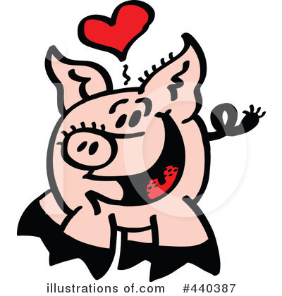 Pig Clipart #440387 by Zooco
