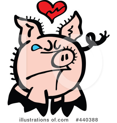 Pig Clipart #440388 by Zooco
