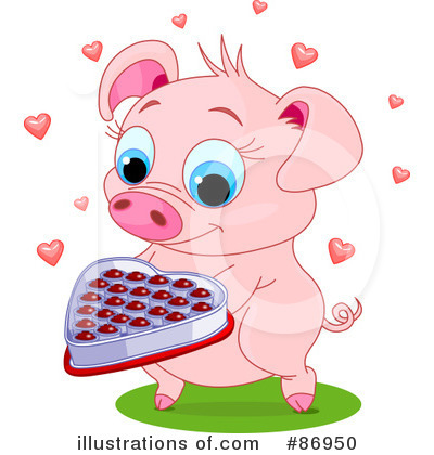 Pig Clipart #86950 by Pushkin