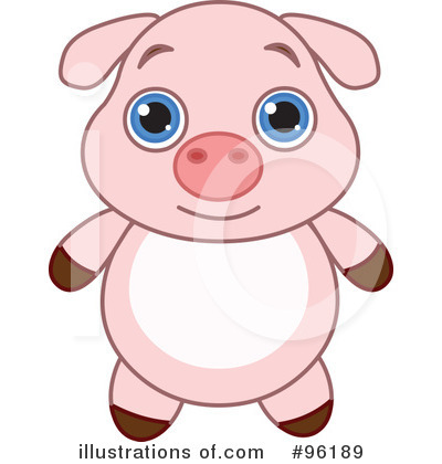 Pig Clipart #96189 by Pushkin