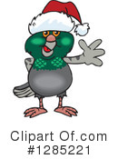 Pigeon Clipart #1285221 by Dennis Holmes Designs