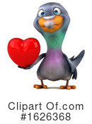 Pigeon Clipart #1626368 by Julos