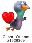 Pigeon Clipart #1626369 by Julos