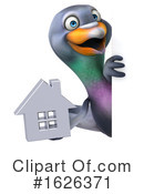 Pigeon Clipart #1626371 by Julos