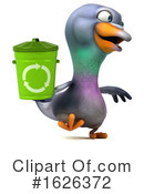 Pigeon Clipart #1626372 by Julos