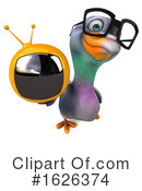 Pigeon Clipart #1626374 by Julos
