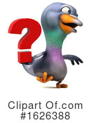 Pigeon Clipart #1626388 by Julos