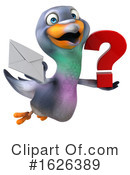 Pigeon Clipart #1626389 by Julos