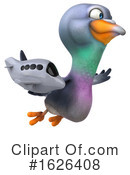 Pigeon Clipart #1626408 by Julos