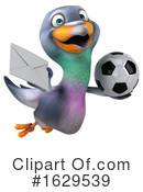 Pigeon Clipart #1629539 by Julos