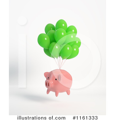 Floating Clipart #1161333 by Mopic