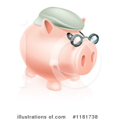 Pig Clipart #1181738 by AtStockIllustration