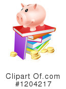 Piggy Bank Clipart #1204217
