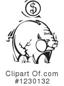 Piggy Bank Clipart #1230132