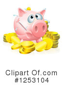Piggy Bank Clipart #1253104