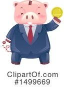 Piggy Bank Clipart #1499669 by BNP Design Studio