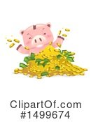 Piggy Bank Clipart #1499674 by BNP Design Studio