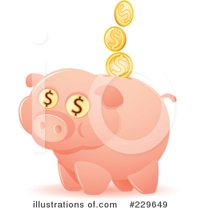 Finance Clipart #229649 by Qiun