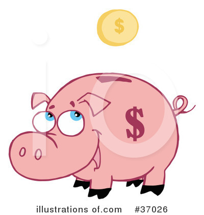 Pig Clipart #37026 by Hit Toon