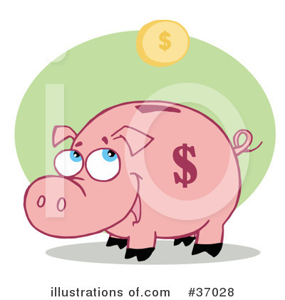 Pig Clipart #37028 by Hit Toon