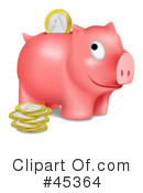 Piggy Bank Clipart #45364