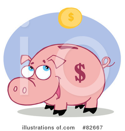 Pig Clipart #82667 by Hit Toon
