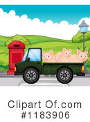 Pigs Clipart #1183906 by Graphics RF