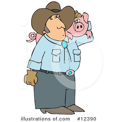 Farmer Clipart #12390 by djart