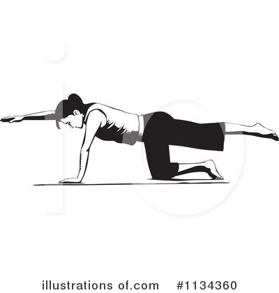 Fitness Clipart #1134360 by David Rey