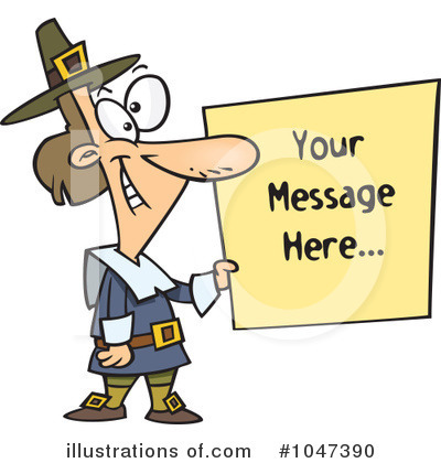 Pilgrim Clipart #1047390 by toonaday